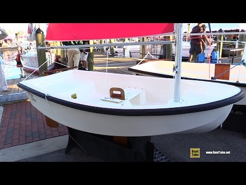 2016 American The Dink Sailing Boat - Walkaround - 2015 Annapolis Sail Boat Show
