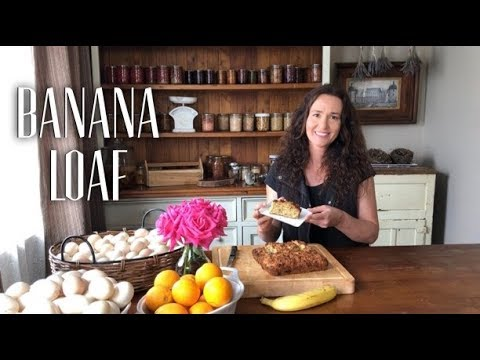 BANANA WALNUT LOAF RECIPE - Freezes Well