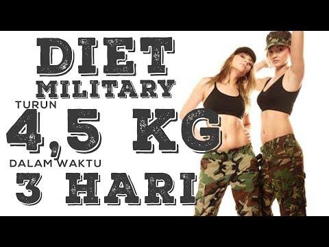 Bahas Diet ala Tentara untuk Turun 4,5 Kg Dalam 3 Hari | Diet Military