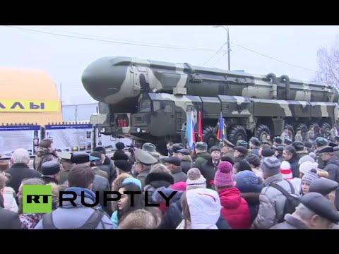 LIVE: Russian Strategic Rocket Forces celebrate anniversary