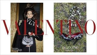 Kaia Gerber for Valentino Pre-Fall 2018 Campaign thumbnail