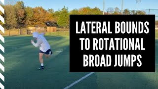 Lacrosse Speed and Agility: Lateral Bounds to Rotational Broad Jumps