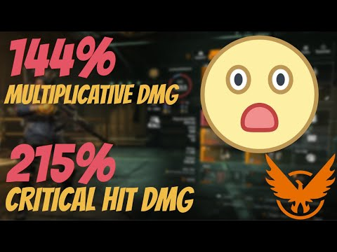 ULTIMATE DPS BUILD!! (MAX EVERYTHING)   Melt in the blink of an eye!   The Division 2  