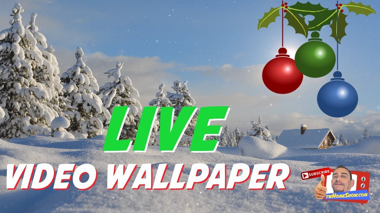 LIVE Video Wallpaper HOLIDAY SEASON Windows Live