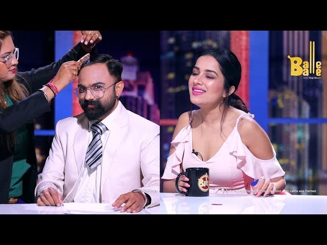 E03 - Khorupanti News with Lakha Ft. Sara Gurpal || Balle Balle TV || Full Interview