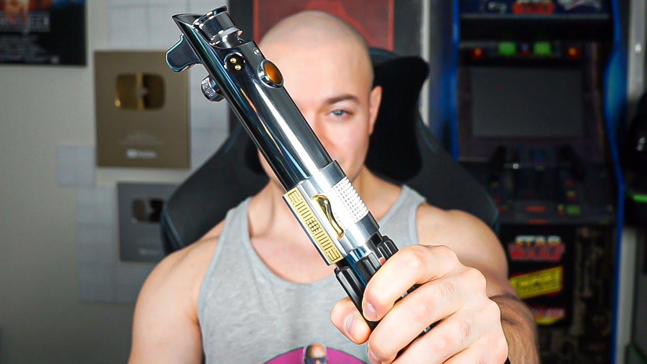 I Bought Anakin Skywalker's Lightsaber Master Replicas 2005
