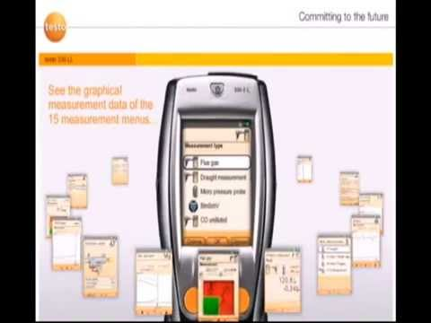testo 330 ll combustion analyzer youtube. Black Bedroom Furniture Sets. Home Design Ideas