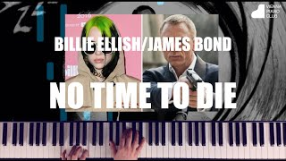 James Bond/Billie Eilish - No Time to Die - Piano Cover - Klavierversion