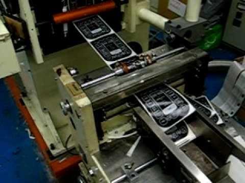 SANJO NS-250 Control Panels 2Black+1White Transparent label