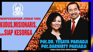 Download Lagu PDT DR YESAYA PARIADJI & PDT DARNIATY PARIADJI - LIVESTREAMING (19 APRIL 2020). mp3