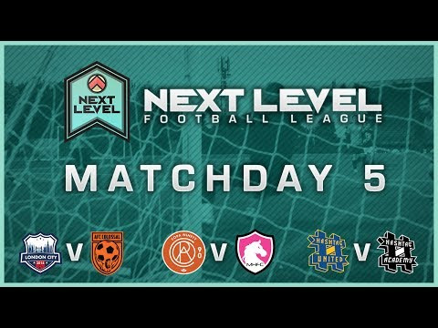 THE FIRST EVER HASHTAG DERBY! | MATCHDAY 5 HIGHLIGHTS! - NEXT LEVEL FOOTBALL LEAGUE