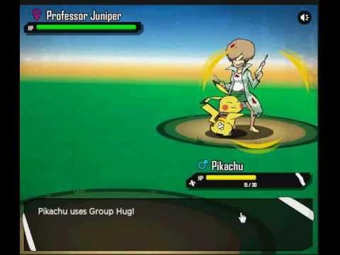 Pokemon PETA Part 2 - Professor Juniper Battle - YouTube