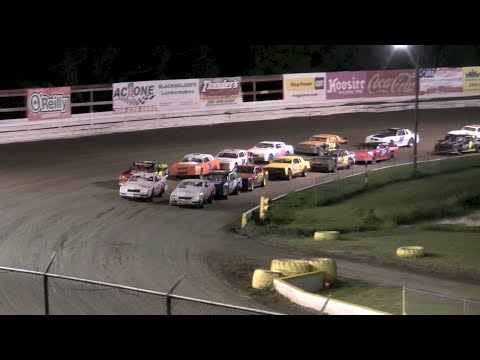 V8 Thunder Stocks Iron Man Round 4 - Volusia Speedway Park 9-10-16