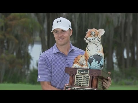 Jordan Spieth's impressive wire-to-wire win at Hero World Challenge