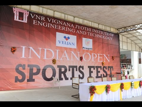 Sports Fest 2016 VNRVJIET Hyderabad
