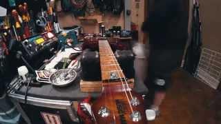 John Petrucci's Guitar Bench - Re-stringing Petrucci's Ernie Ball Music Man JP15 Electric Guitar