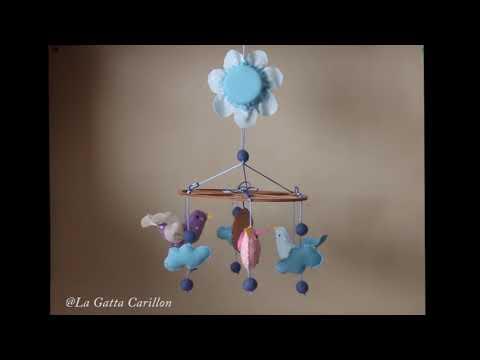 CARILLON PER CULLA UCCELLINI, carillon bimbo (Melodia: Ninna Nanna)