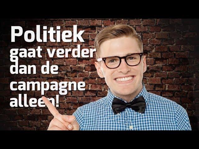 Campagne De politiek gaat verder...