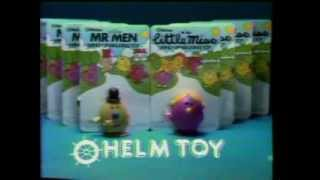 80's Ads: Mr. Men Little Miss Wind Up Walking Toys