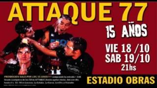 Carajo - Chicos y Perros + Soy de Attaque 77 // 19.10.02