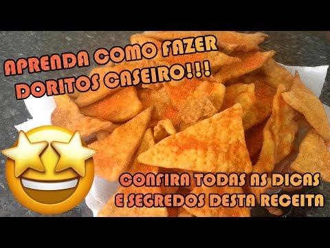 COMO FAZER DORITOS CASEIRO TIPO NACHOS | Como Fazer Fácil #Receitas 15