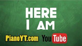 Here i am - Bryan Adams Piano Tutorial - PianoYT.com