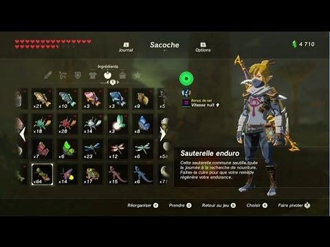 The Legend of Zelda: BotW - Guide Sauterelles Enduro / Ce que femme veut