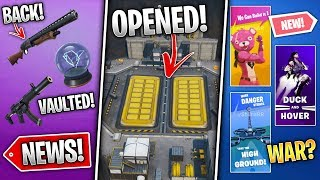 Pressure Plant OPEN, Utopia Skin Styles Hunt, Pump Back, Propaganda & Cattus Event! (Fortnite News)