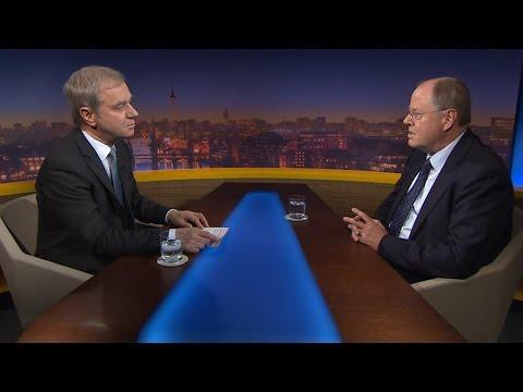 Peer Steinbrück im Dialog mit Michael Hirz