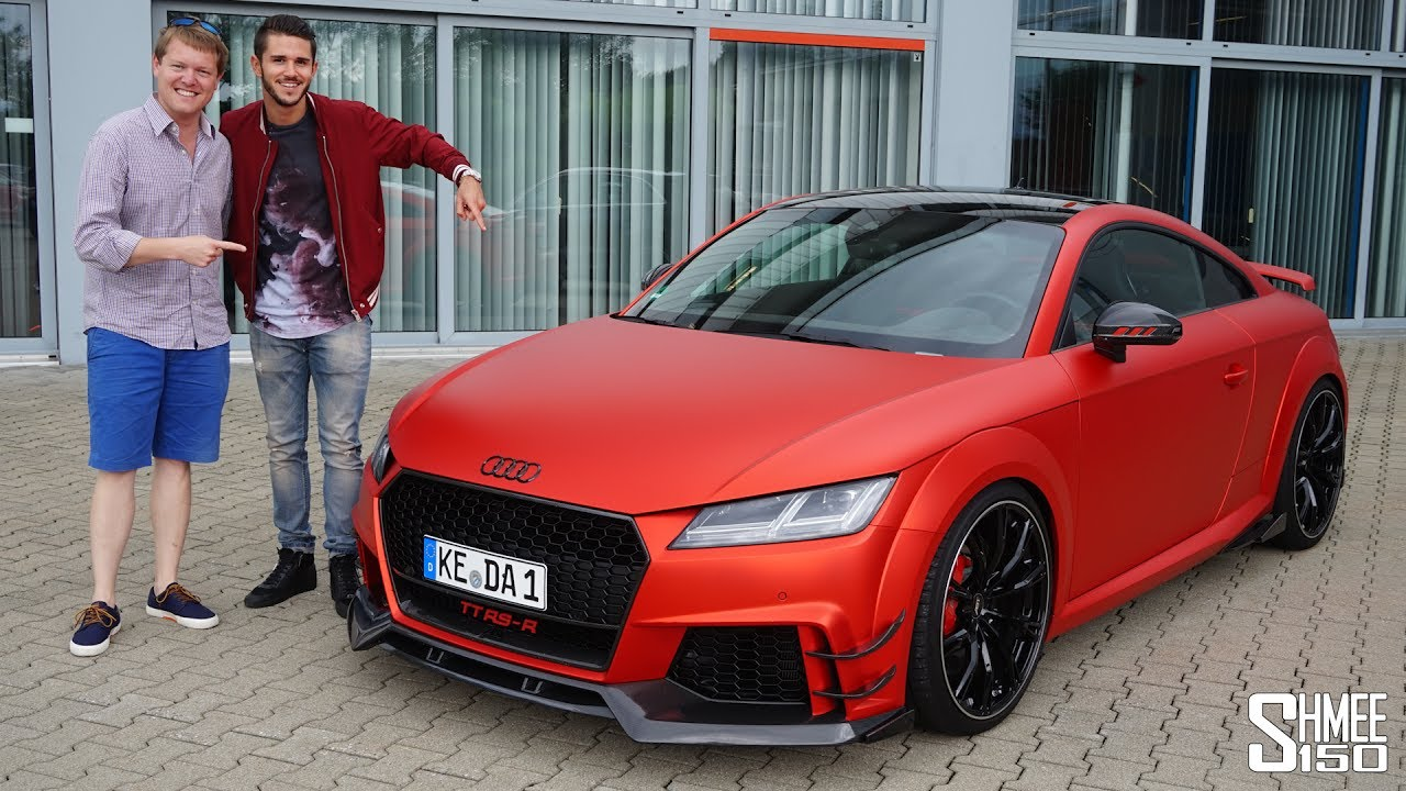 This Is The Abt Tt Rs R And It S A 500hp Beast