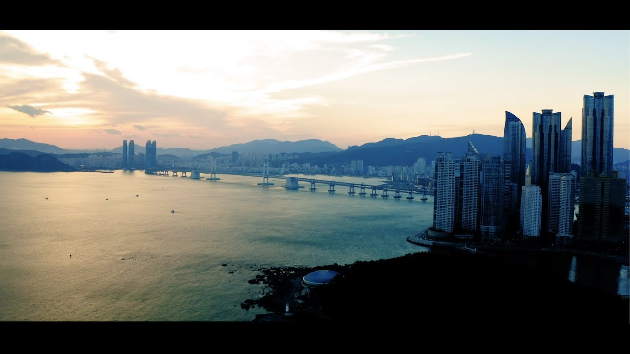 Sky's Limit x World Best Beach Haeundae in Korea 4K