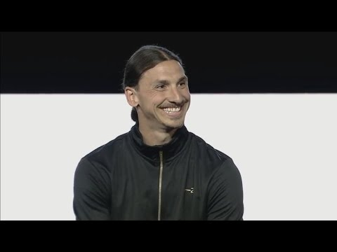 Zlatan Ibrahimovic Q&A - A-Z Launch