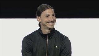 Zlatan Ibrahimovic Q&A - A-Z Launch