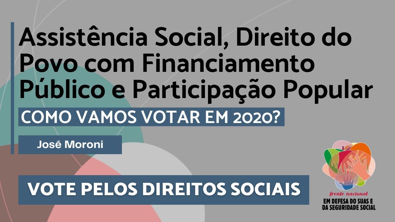 Eleições 2020 - José Antonio Moroni
