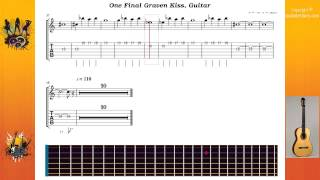 One Final Graven Kiss - Cradle Of Filth - Guitar