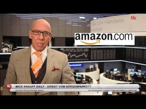 Amazon: Diese Innovationen sorgen für weiteres (Kurs-)Wachstum! Mick Knauff Daily - 06.01.2017