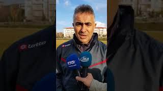 BB.Erzurumspor Teknik Direktörü Mehmet Altıparmak ilk açıklaması