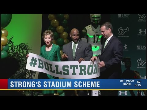 USF shares plans for new stadium
