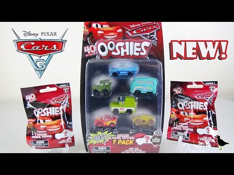 Ooshies Series 1 Cars 7 Packs Doovi