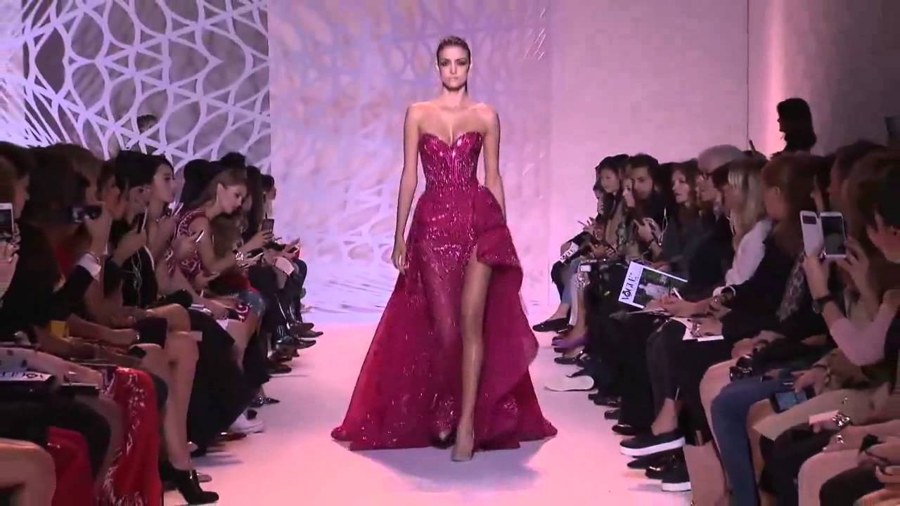 Zuhair Murad Haute Couture Fall Winter 2014 2015 Complete