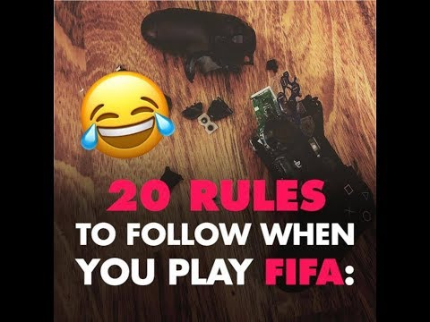 The 20 rules you must respect in FIFA 🎮