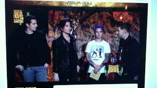 a7x presenting album of the year at the 2012 golden god awards