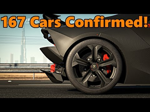 Forza Motorsport 7 Car List - FIRST 167 CARS CONFIRMED!