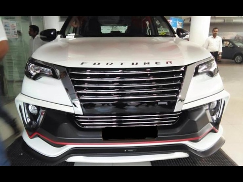2017 Toyota Fortuner Modified By Dealer With Nippon Body ...