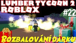 Rozbalování dárků! - Roblox - Lumber Tycoon 2 - #22 [CZ/SK]