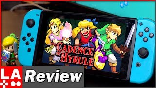 Cadence of Hyrule Crypt of the NecroDancer Review (Nintendo Switch) (Video Game Video Review)