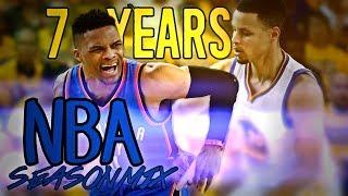 NBA Season Mix - 7 Years