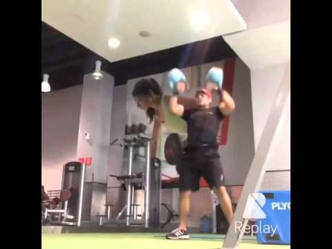 Kettlebell Double Snatches