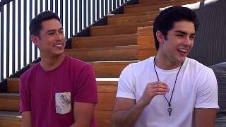 Interview with Diego Tinoco and Julio Macias- On My Block S1 (pt 1)