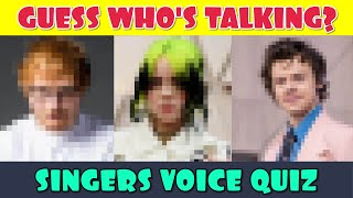 Guess the Singer Voice Quiz | Who is the Singer Voice Quiz | Celebrity Voice Quiz | Name the Singer